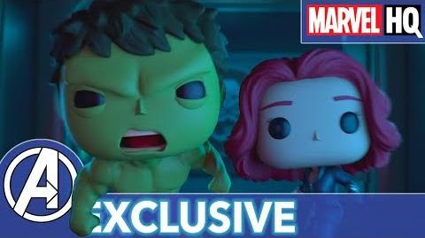 Marvel Funko Presents Tick Tick Smash (starring Hulk & Black Widow) EXCLUSIVE SHORT