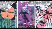 Felicia fears that the spider may be angry with her
