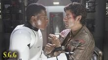 Star Wars The Force Awakens Secret Romance? Stormpilot