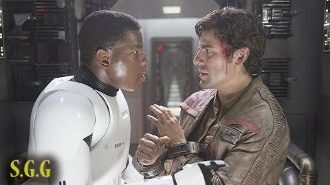 Star Wars The Force Awakens Secret Romance? Stormpilot
