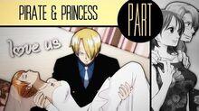 ☠ ps Pirate & Princess Sanji x Nami