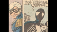 Spider-Man is moved that the Black Cat risked his life for him.