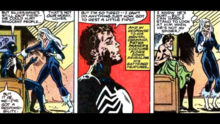 Felicia can't look at Peter when he's not Spider-Man