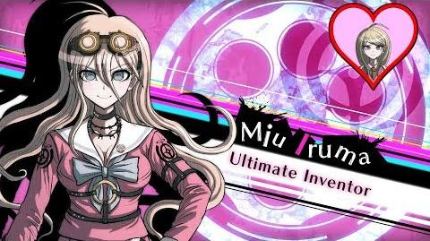 Danganronpa V3 Killing Harmony - Kaede's Friendship Event Miu Iruma