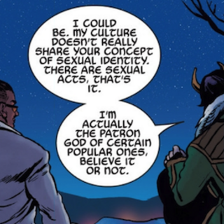 Loki talks sexual identity with David in <i>Young Avengers</i>