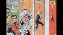 The Black Cat is shocked to learn who Spider-Man is