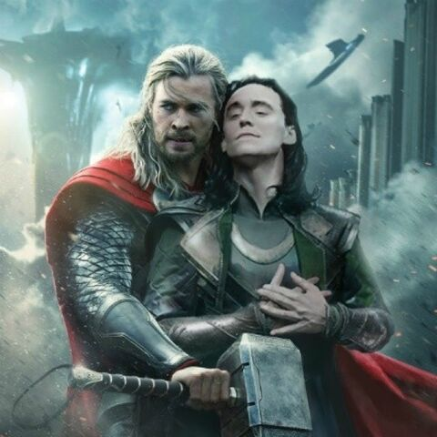 Poster edit for <i>Thor: The Dark World</i> by bbqfish2012
