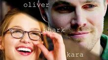 Oliver and kara shark