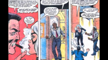 Felicia gets angry at hearing Peter Parker's speech badly.