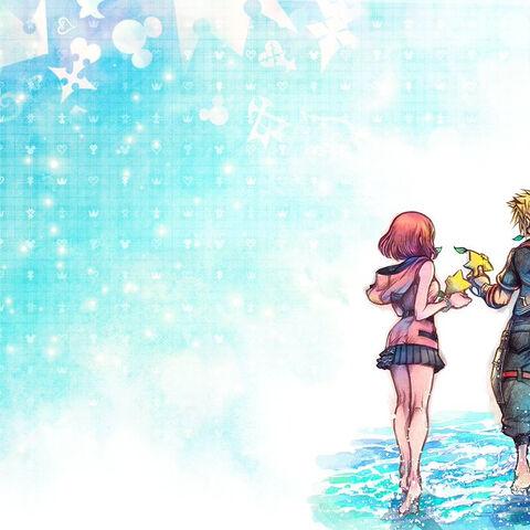 Tetsuya Nomura's official artwork for the ReMind DLC