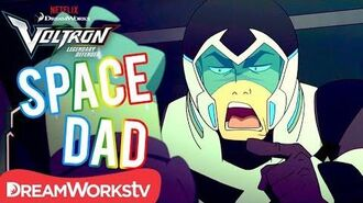 Shiro's Best Space Dad Moments - DREAMWORKS VOLTRON LEGENDARY DEFENDER
