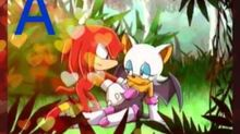 Knuckles x Rouge - A Thousand Miles AMV