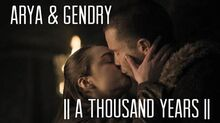 Gendry & Arya A Thousand Years (+8x02)