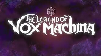 The Legend of Vox Machina Animated Intro