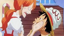 ☠ ps What the Hell - Luffy x Nami For Shanny