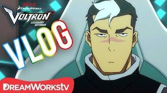 Voltron Vlogs- Shiro - DREAMWORKS VOLTRON LEGENDARY DEFENDER