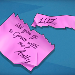 Amity's letter for Luz.