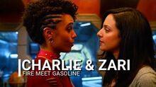 Charlie & zari - fire meet gasoline