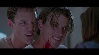 Scream Best scene Wes Craven Neve Campbell Sidney Prescott Matthew Lillard Skeet Ulrich