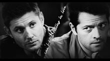 Destiel - can't help falling in love with you