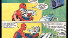 Felicia declares her love for the spider