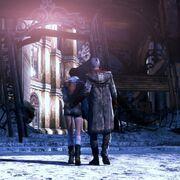 Kante - Dante and Kat walk away from the battleground