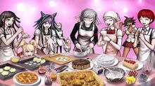 Danganronpa 2 Goodbye Despair - Preparing for Girls-Only Gathering Chapter 1 Event