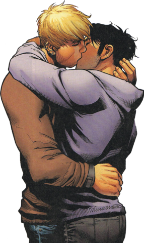 File:Young Avengers - Superboyfriends Proposal Kiss (Avengers The Children's Crusade).png