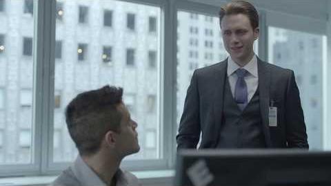 Mr Robot First Conversation With Tyrell Wellick - Bonsoir Elliot Scene