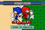 SonicAdvance3 Sonic&Knuckles