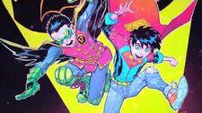 DC Super Sons DamiJon (Damian x Jonathan) - Jon loves Dami like LaLaLa!