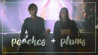 Queliot; peaches + plums