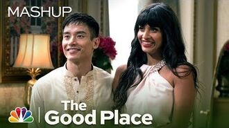 Tahani and Jason Get to Know Each Other - The Good Place (Mashup)
