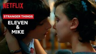 Eleven and Mike's Love Story - Stranger Things - Netflix
