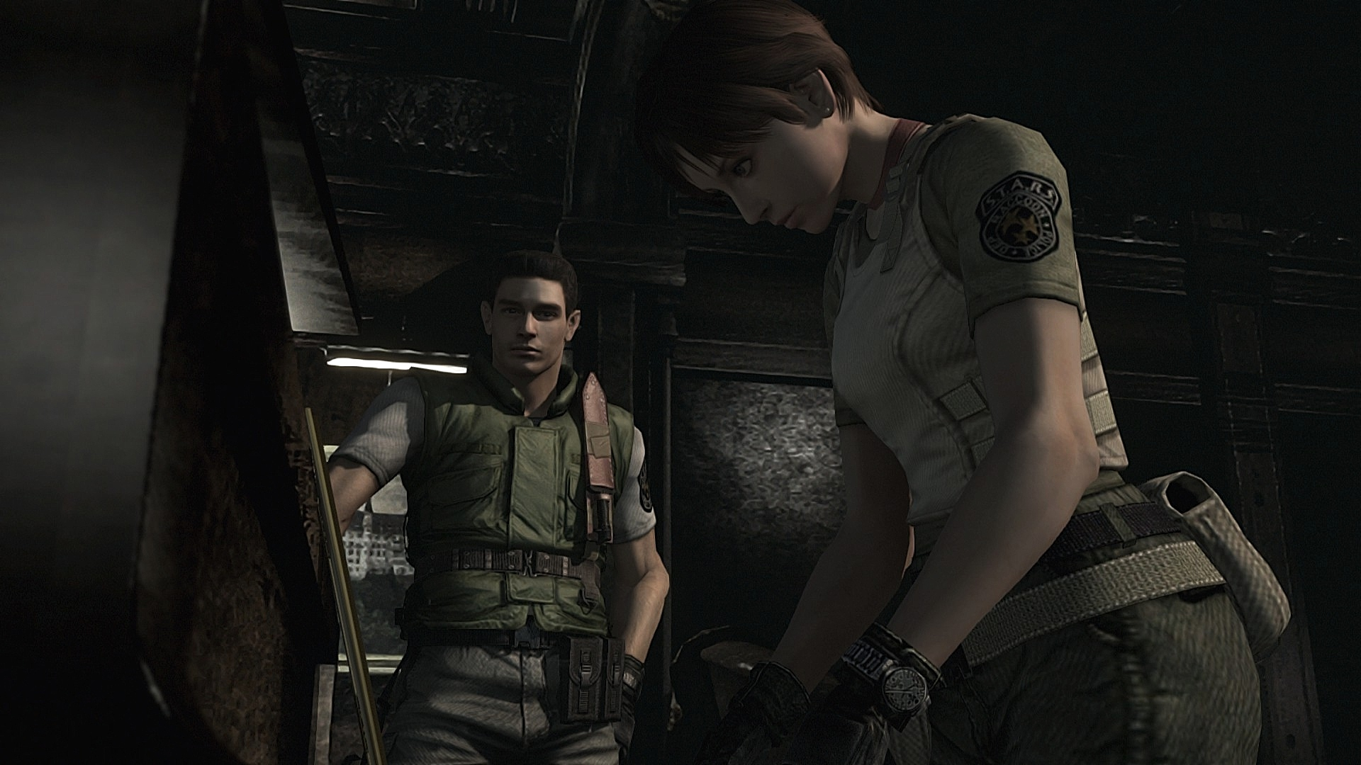 resident evil vendetta chris and rebecca