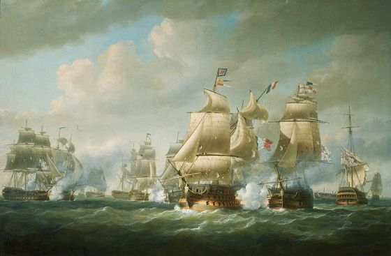 File:Duckworth's Action off San Domingo, 6 February 1806.jpg