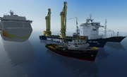 Shipyard vessels