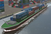 Inland Containership