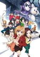 SHIROBAKO Movie Key Visual 3