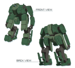 Type-94 MTK KONGOU-front-back