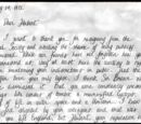 Letter from Mary Elizabeth Windlenot