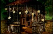 Witch Doctors Hut Exterior