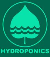 Hydroponics logo