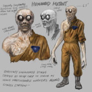 Remastered Humanoid Mutant Concept Art