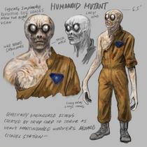 Remastered Humanoid Mutant Concept Art
