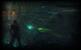 System Shock 2 Steam Background Confrontation