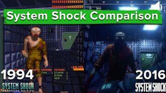 System Shock Remastered vs. Enhanced Edition