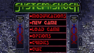 System Shock 1 Enhanced Edition Source Port main menu, normal gamma
