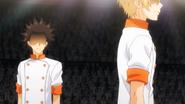 Isami and Takumi during the Preliminaries