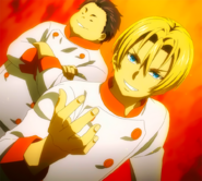 Takumi arrives (anime)